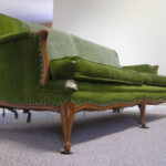 Amazing Vintage Green Velvet Sofa 96 In Living Room Sofa Inspiration with Vintage Green Velvet Sofa
