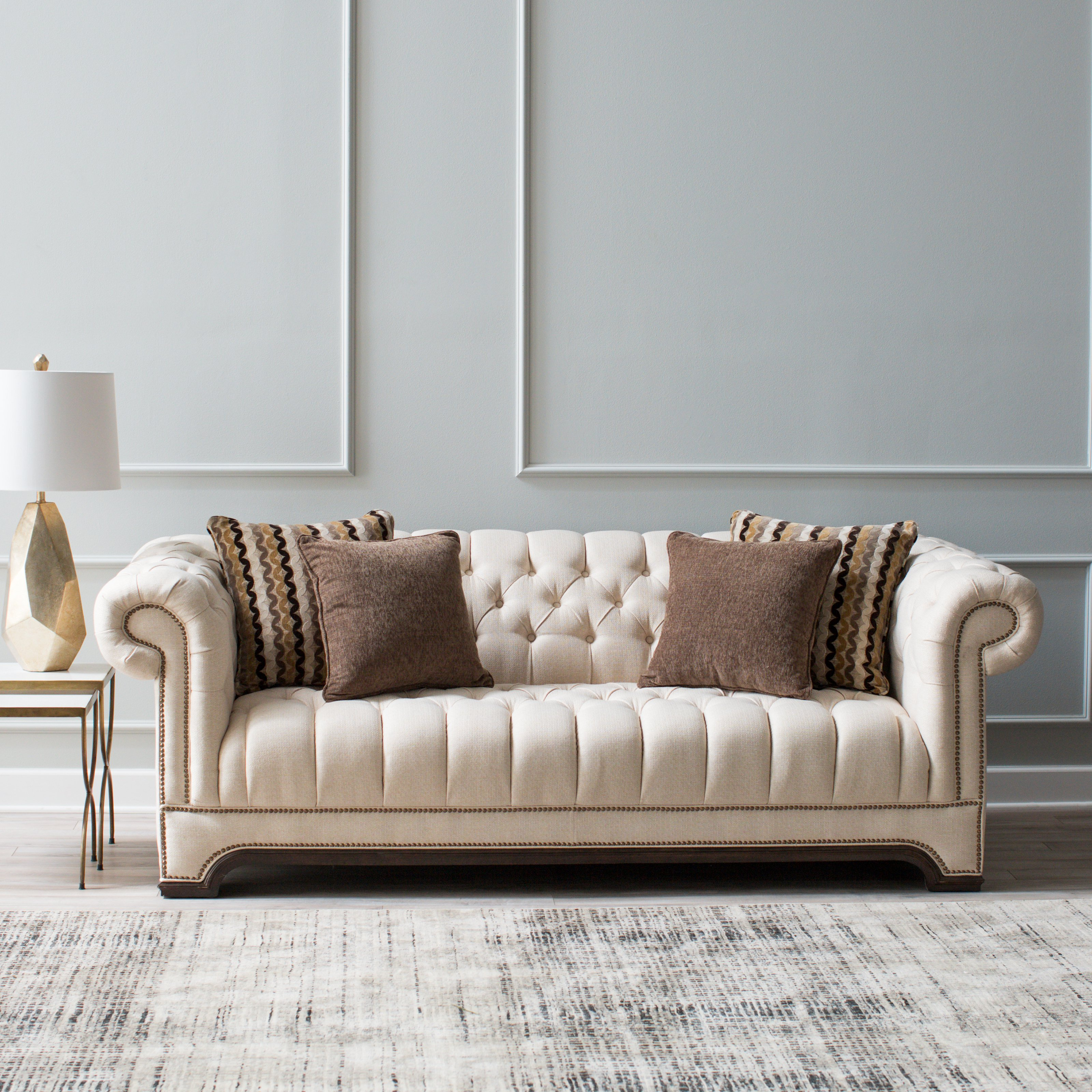 Awesome Brown And White Sofa 77 On Contemporary Sofa Inspiration with Brown And White Sofa