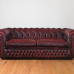 Elegant Red Leather Tufted Sofa 59 For Your Sofa Table Ideas with Red Leather Tufted Sofa