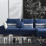 Epic Navy Blue Modern Sofa 69 For Your Office Sofa Ideas with Navy Blue Modern Sofa