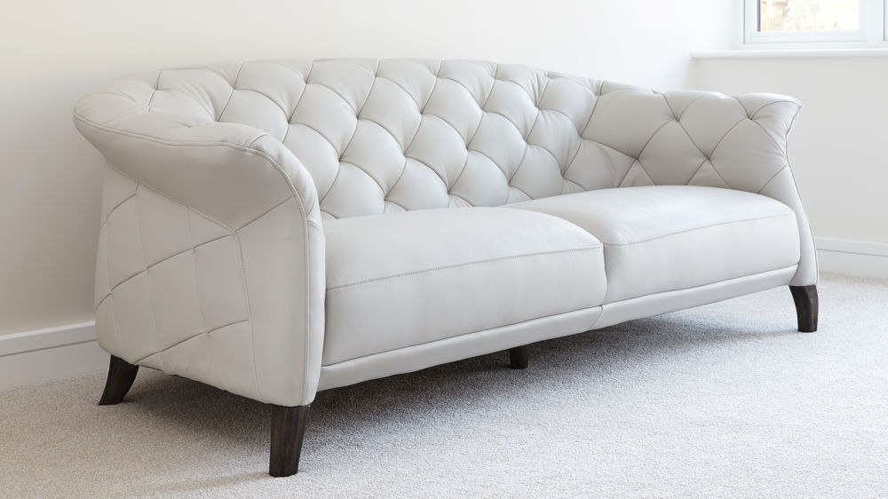Fantastic White Leather Two Seater Sofa 59 For Your Contemporary Sofa Inspiration with White Leather Two Seater Sofa