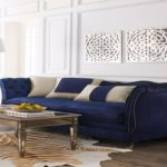 Fresh Navy Blue Velvet Tufted Sofa 22 For Modern Sofa Ideas with Navy Blue Velvet Tufted Sofa