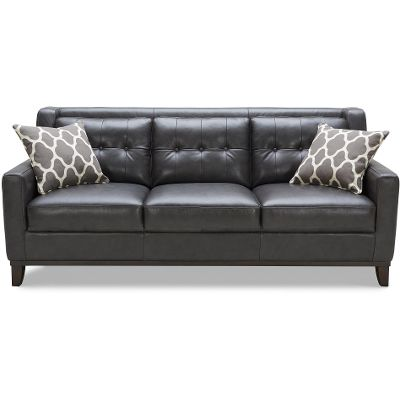 gray leather couch. Gorgeous Charcoal Grey Leather Sofa 69 About Remodel Living Room Ideas With Gray Couch