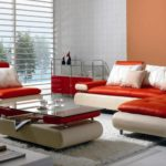 Gorgeous Red And White Leather Sofa 16 For Living Room Sofa Ideas with Red And White Leather Sofa