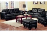 Inspirational Black Leather Sofa And Loveseat Set 42 In Contemporary Sofa Inspiration with Black Leather Sofa And Loveseat Set