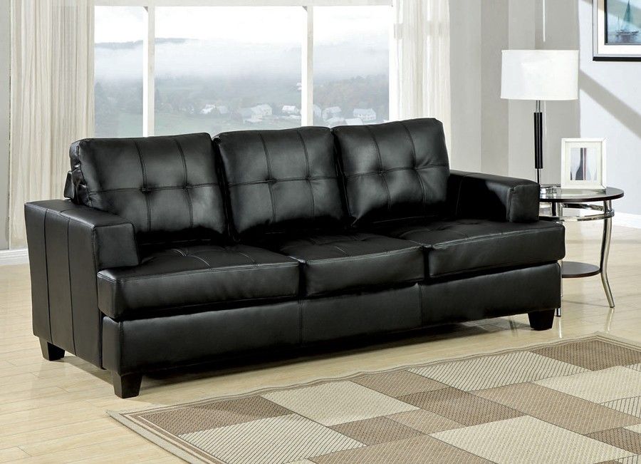 Inspirational Black Leather Sofa Couch 61 For Your Sofas and Couches Set with Black Leather Sofa Couch