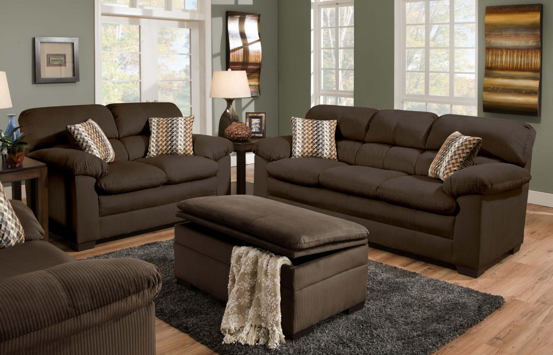 Magnificent Chocolate Brown Sofa And Loveseat 91 About Remodel Living Room Sofa Inspiration with Chocolate Brown Sofa And Loveseat