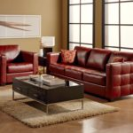 Outstanding Dark Red Leather Sofa 50 On Contemporary Sofa Inspiration with Dark Red Leather Sofa
