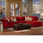 Outstanding Red Sectional Sofa With Chaise 52 For Your Living Room Sofa Ideas with Red Sectional Sofa With Chaise