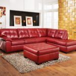 Outstanding Red Sectional Sofa With Chaise 96 For Your Sofas and Couches Ideas with Red Sectional Sofa With Chaise