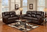 Perfect Brown Leather Recliner Sofa Set 60 In Sofa Table Ideas with Brown Leather Recliner Sofa Set