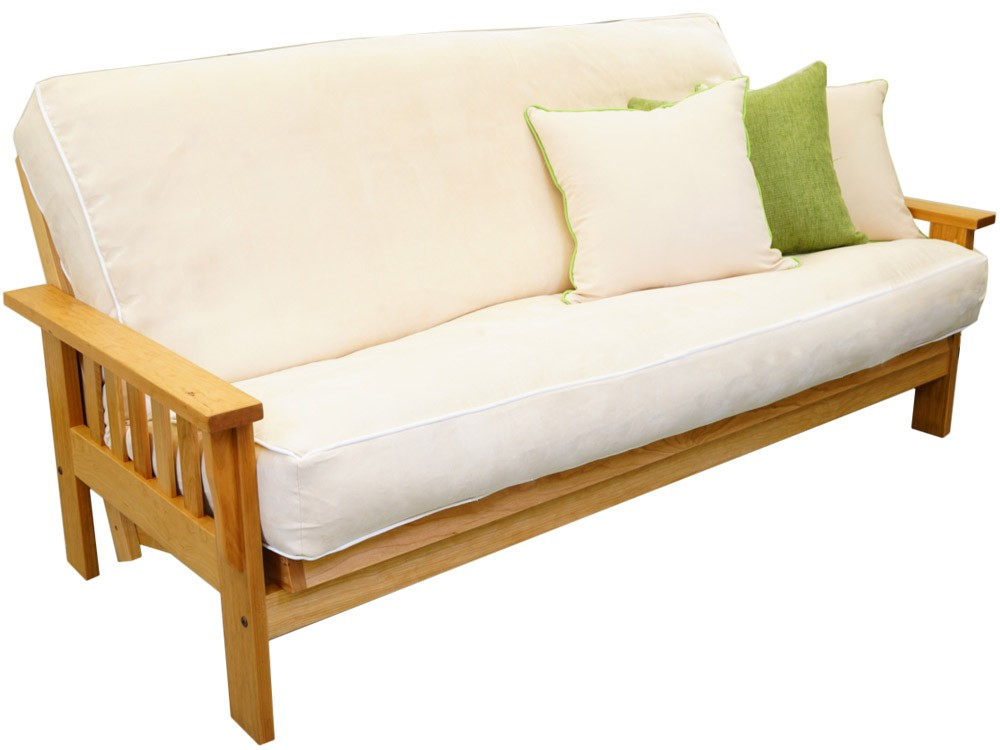Wood Sofa Bed ~ Futon sofa bed wooden frame perfect wood