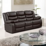 Super Dark Brown Leather Reclining Sofa 17 For Your Sofas and Couches Set with Dark Brown Leather Reclining Sofa