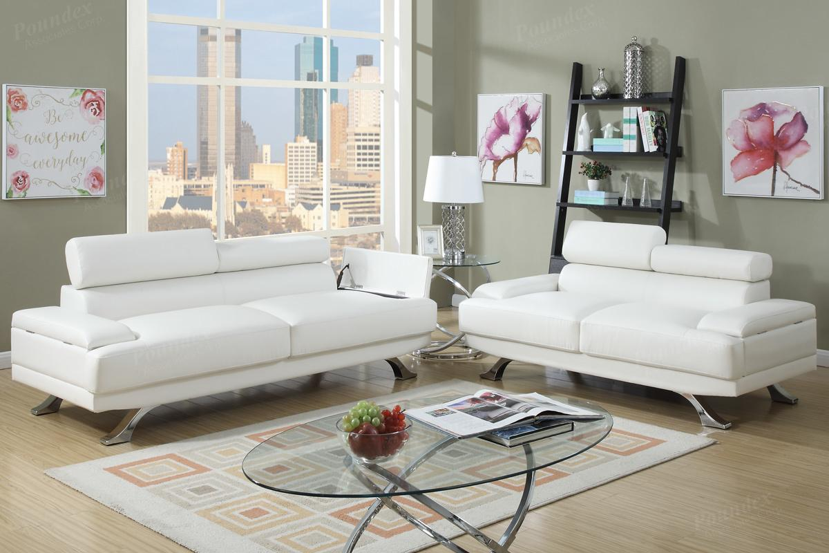 Super White Reclining Sofa And Loveseat 91 For Modern Sofa Ideas ...
