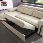 Trend Real Leather Sleeper Sofa 43 In Contemporary Sofa Inspiration with Real Leather Sleeper Sofa