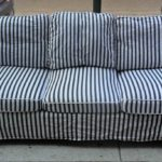Awesome Blue And White Striped Couch 15 For Your Living Room Sofa Inspiration with Blue And White Striped Couch