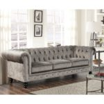 Awesome Gray Velvet Couch 69 With Additional Modern Sofa Ideas with Gray Velvet Couch