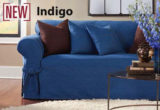 Elegant Denim Couch Cover 57 For Sofa Room Ideas with Denim Couch Cover