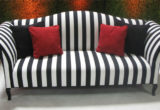 Fresh Black And White Striped Couch 68 With Additional Living Room Sofa Ideas with Black And White Striped Couch