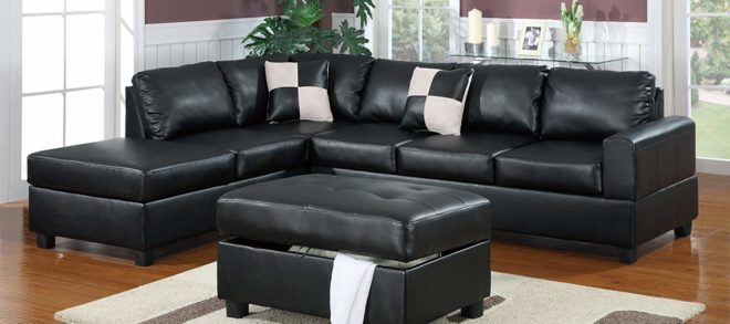 Outstanding Black Sectional Couch 36 In Contemporary Sofa Inspiration with Black Sectional Couch