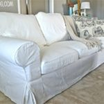 Outstanding White Slipcover Couch 95 Sofa Room Ideas with White Slipcover Couch